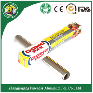 Aluminum Foil Winding Roll for Food Packaging