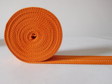 37mm orange polyester webbing for garment accessories&belts