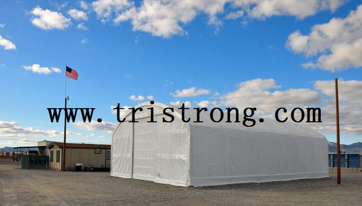 Trussed Frame Shelter, Large Warehouse, Prefabricated Building (TSU-4060/TSU-4070)