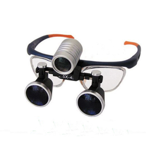 KD-202-1 China Binocular Head Lupa com lâmpada LED