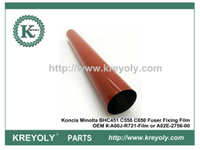 High Quality A00J-R721-Film A02E-2756-00 Fuser Film Sleeve for Konica Minolta C451 C452 C550 C652 C660