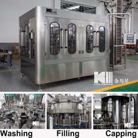 DCGF 14-12-4 Carbonated Drink 3-in-1 Filling Machine