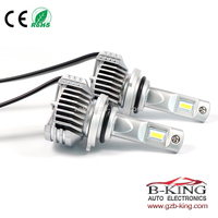 Smallest P12 45W 6500lm universal HB4 9006 car led headlight with built-in fan( 100% suitable for all cars)