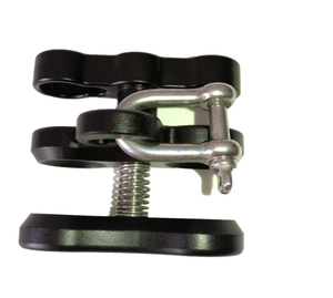 Underwater Multi-Purpose Clamp with Shackle
