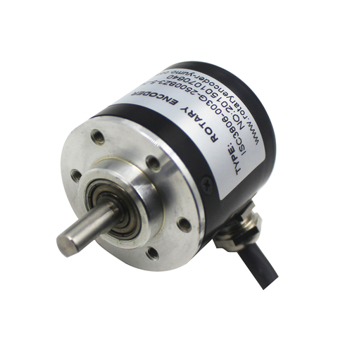 YMA38S 38mm Solid Shaft Incremental Rotary Encoder
