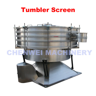 Stainless steel powder tumbler vibro screen and swing sieve