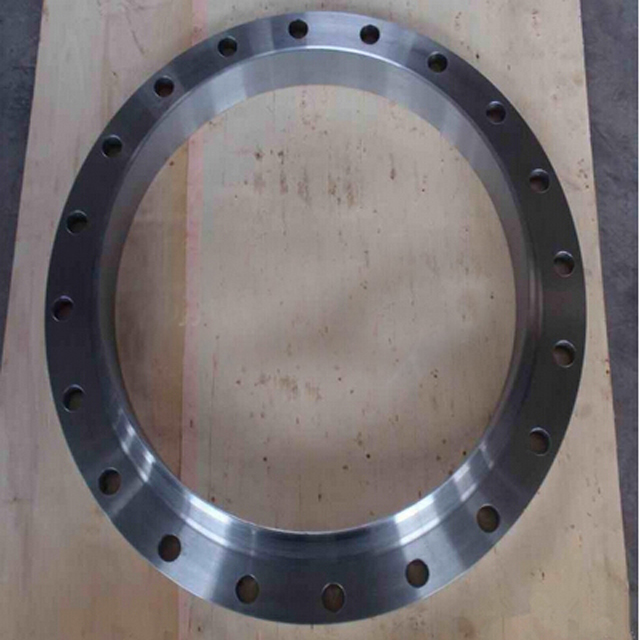 high precise machining ti flange