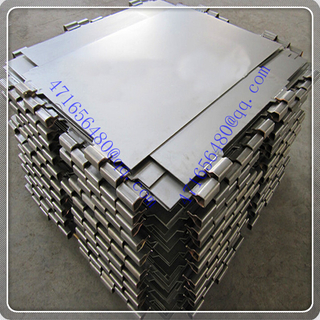 zirconium clad copper composite starting sheet for Gold, copper & nickel mining