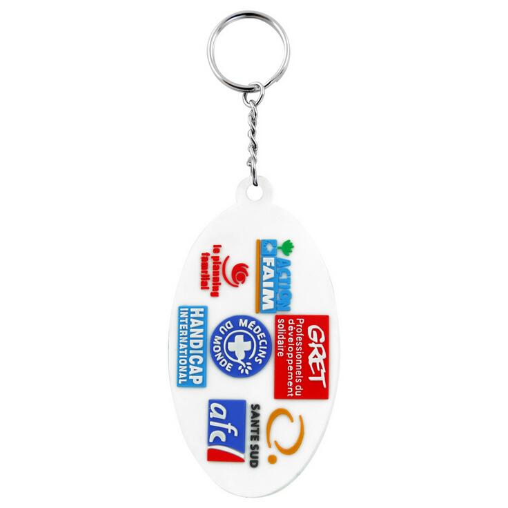 Promotional Soft PVC Keychains