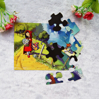 Scenery Puzzle Fridge Magnet