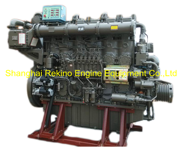 775HP 750RPM Yuchai marine propulsion boat diesel main engine (YC6CL770L-C20)