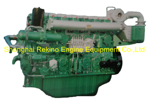 680HP 1200RPM Yuchai marine propulsion boat diesel motor engine (YC6CD680L-C20)
