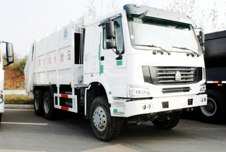 HOWO 22~25m3 compressed garbage truck
