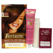 2016 Fantastic 7.34 Golden Brown House-Use No Damage Hair Dye