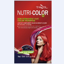 2016 Sacheted Nutricolor Semi-Permanent Hair Color Shampoo
