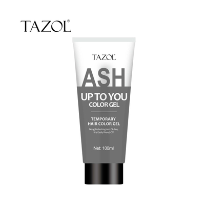 Tazol temporary hair color gel gray