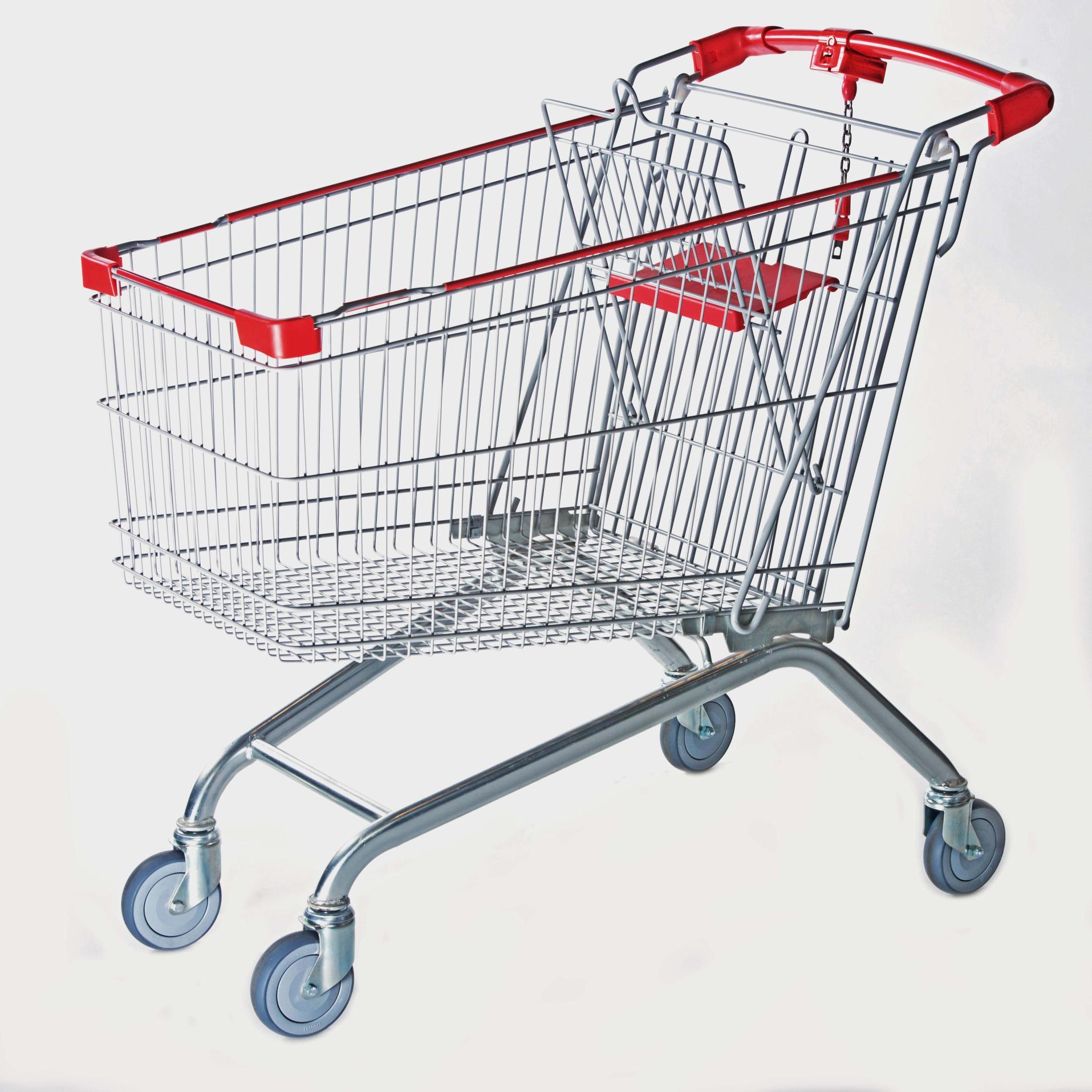 欧式180, 购物车 手推车 超市购物车 超市手推车供应
