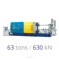 63tons/630kN Cold Chamber Die Casting Machine