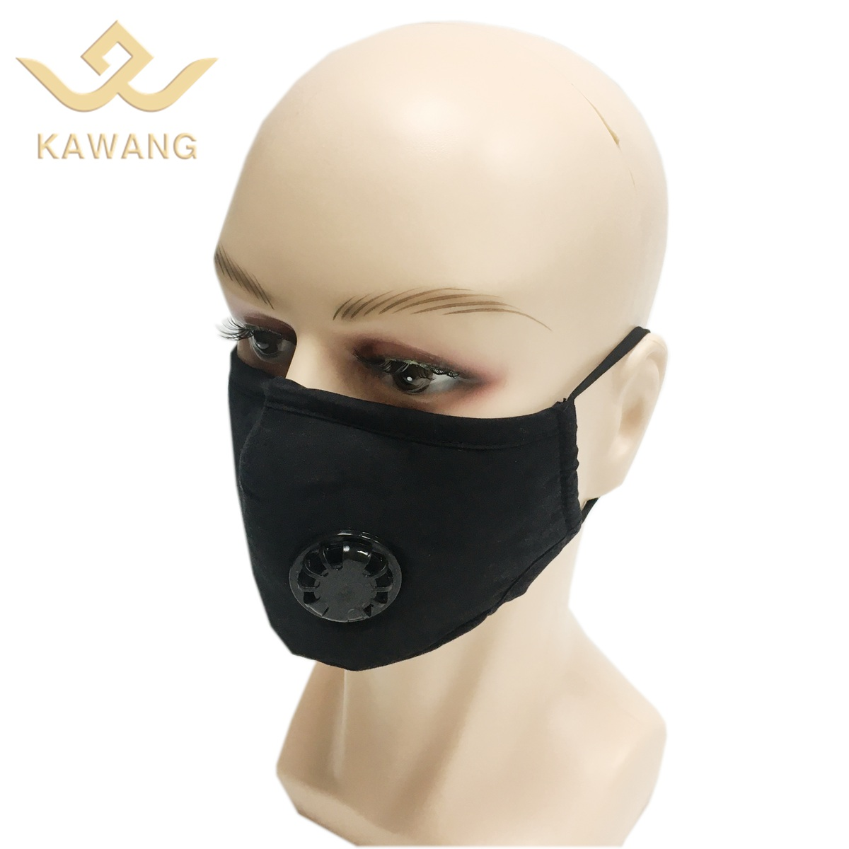Custom logo face mask with pocket cotton mask shield