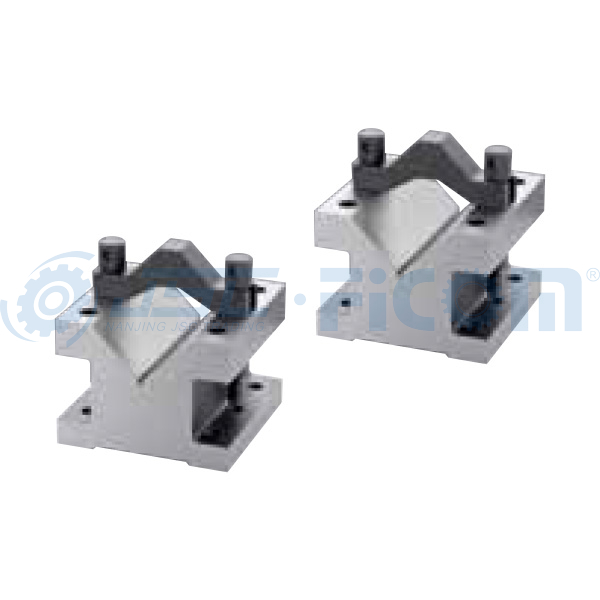 Ultra precision V-block & clamp set