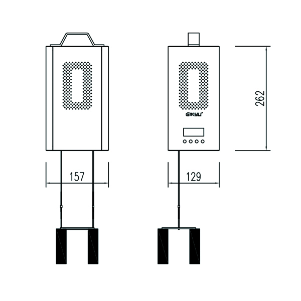 雙出線吊飾升降控制箱