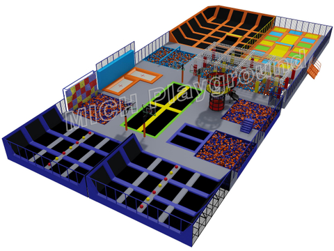 MICH Indoor Trampoline Park Design for Amusement 7108A