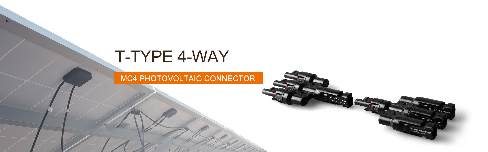 MC4 PV Connector 4-Way - LvchenSolar, One-Stop PV Products and Service
