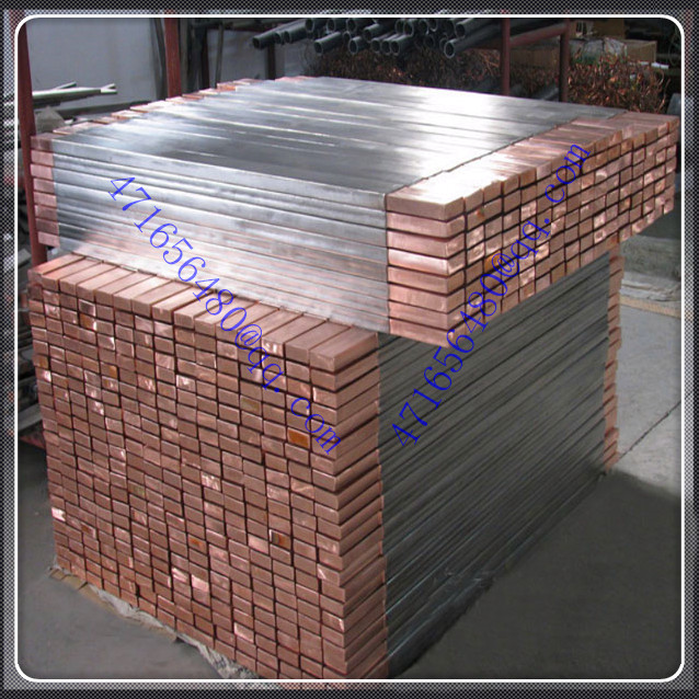 top quality ti clad copper anode