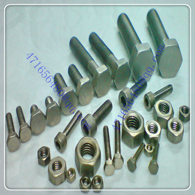 high strength Titanium metric fastener/ titanium countersunk head self-tapping screws