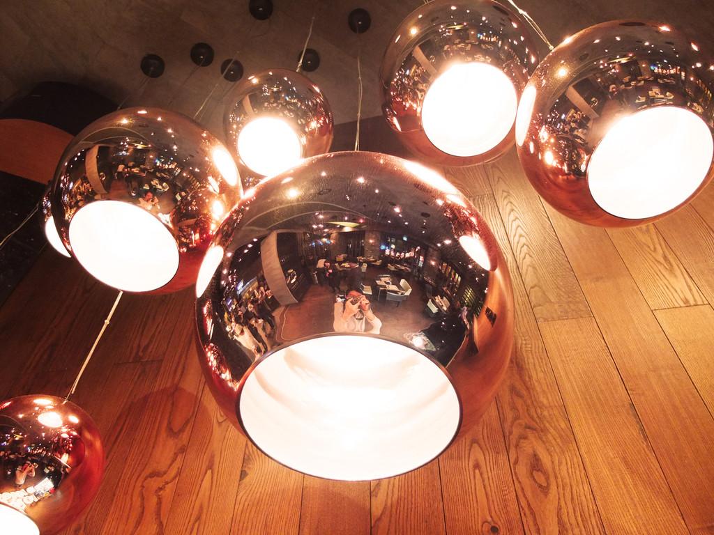 Tom Dixon Copper ball pendant lamp -4026101- (7)