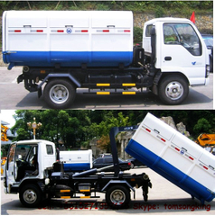 ISUZU 4~6 CBM 4x2 hook lift truck