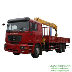 SHACMAN F2000 Truck With Crane 10T-14 XCMG Euro 4 ,5