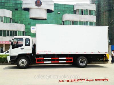 ISUZU FTR Freezer Truck  15T~16T 38.77m3<Customization>