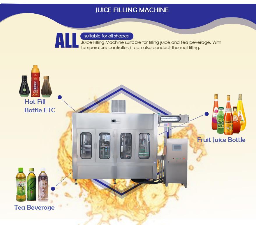 juice production machine suitable for filling machine juice
