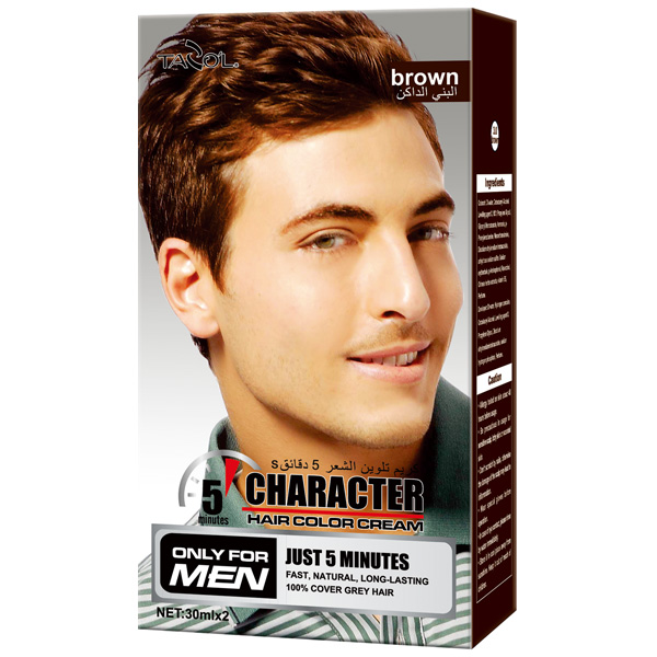 Tazo′l 100% Covering Grey Hair Color Cream for Men