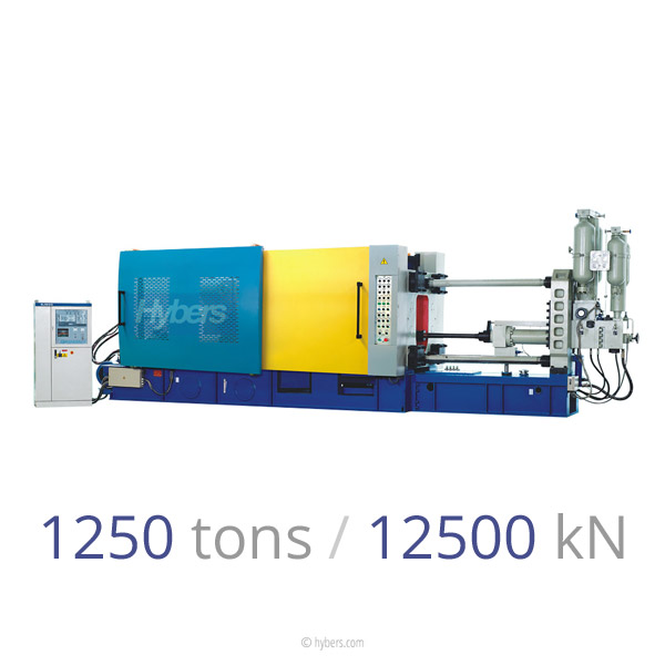 1250tons/12500kN Cold Chamber Die Casting Machine