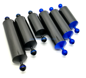 60 MM Dia Underwater Carbon Fiber Buoyancy Float Arms