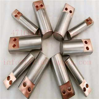 GR2 TITANIUM CLAD COPPER ANODE BAR for Hydrometallurgy