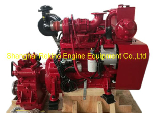 Cummins 4BTA3.9-M120 rebuilt reconstructed marine diesel engine with gearbox (120HP 2400-2500RPM)