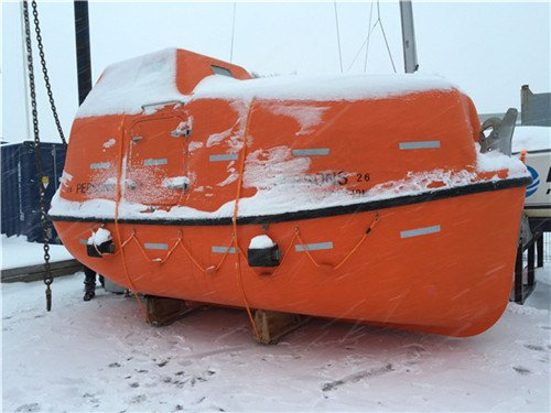 TEMPSC Totally Enclosed Lifeboat