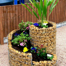 Gabion Planter Flower Basket Bed