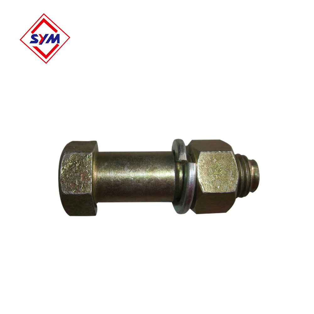 sym machinery tower crane spare parts mast section pin manufacturer