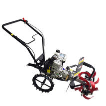 20-60cm 2.2kw / 3600 129cc Loose soil, weeding and furrows mini tiller