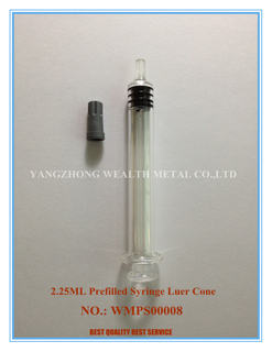 2.25ml Luer Cone Prefilled Syringe