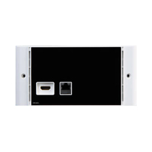 1 In 1 Out HDMI+RJ45 Output Wallplate (HD1402)
