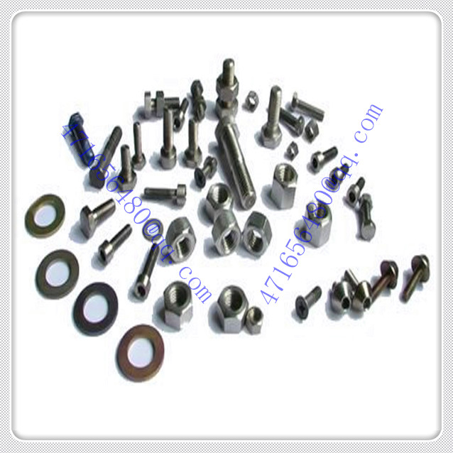 CNC machining ti fastener screw nut bolt washer basket
