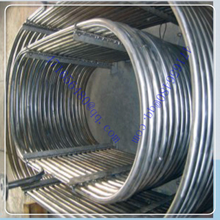 high precise titanium u shape pipe for Ti heat exchanger supplier