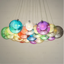 Colorful Glass Modern Chandelier Bocci Double Covers Wedding Decorations Pendant Lamp (5015101)
