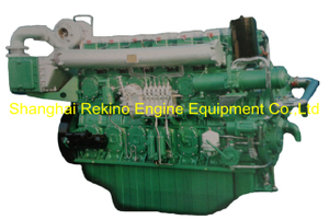 750HP 1350RPM Yuchai marine propulsion boat diesel motor engine (YC6CD750L-C20)