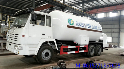 Steyr LPG Bobtail tanker